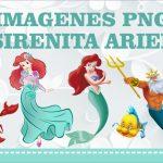 Imagenes de la Sirenita Ariel PNG