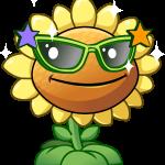 plantas vs zombies flor