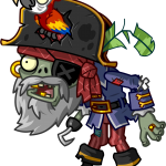 plantas vs zombies pirata