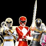power rangers Clipar personajes 1