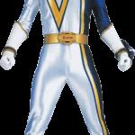power rangers azul blanco clipar