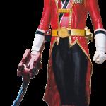 power rangers clipar personaje rojo1