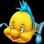 sirenita clipart flounder pez