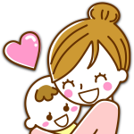 103 1031983 daycare clipart big baby baby and mother cartoon