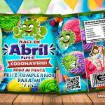Chips Bags Cumpleaños Coronavirus Abril