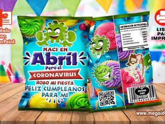 Abril Coronavirus ChipsBags