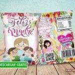 Chips Bag Día de la Madre Bolsas para Galletas GRATIS