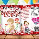 Chips Bag Día de la Madre 03 Bolsas para Galletas
