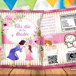 Chips Bag Día de la Madre 04 Bolsas para Galletas
