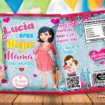 Chips Bag Día de la Madre 06 Bolsas para Galletas
