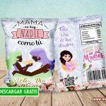 Chips Bag Día de la Madre Bolsas para Papitas GRATIS