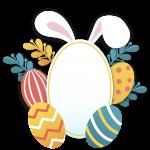 Huevos y Orejas Pascua
