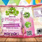 Chips Bags Cumpleaños Mujer Coronavirus Mayo