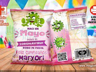 Mayo Coronavirus Girl ChipsBags
