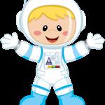 astronauta clipart 1