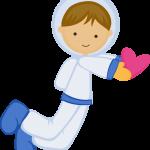 astronauta clipart 10