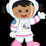 astronauta clipart 1girl