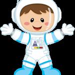 astronauta clipart 2