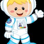 astronauta clipart 4