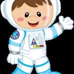 astronauta clipart 5