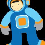 astronauta clipart 549