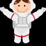 astronauta clipart 5555