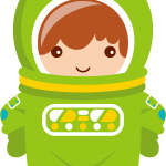 astronauta clipart alien 54