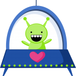 astronauta clipart alien 56558