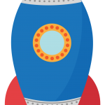 astronauta clipart cohete 444