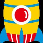 astronauta clipart cohete222