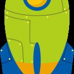 astronauta clipart cohete54