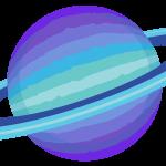 astronauta planeta clipart