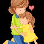 dia de la madre clipart abrazo hija
