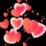dia de la madre corazones clipart