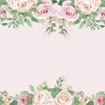 fondo flores rosado