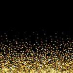 fondo negro dorado puntos