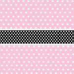 fondo rosado cinta negro