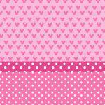 fondo rosado minnie mouse