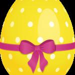 huevo amarillo pascua