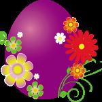 huevo morado pascua