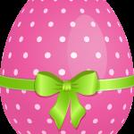 huevo rosado pascua