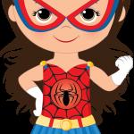 super heroes clipart animado 11