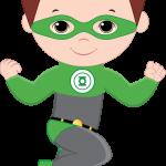 super heroes clipart animado 46
