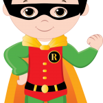 super heroes clipart animado 58