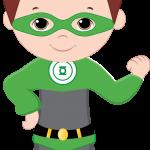 super heroes clipart animado 99