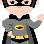 super heroes clipart animado batman 222