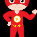 super heroes clipart animado flash
