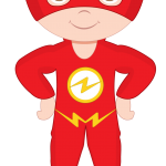 super heroes clipart animado flash 3