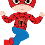 super heroes clipart animado spiderman