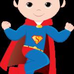 super heroes clipart animado superman